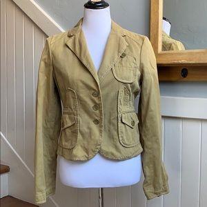 BCBGMAXAZRIA Khaki Surplus Jacket